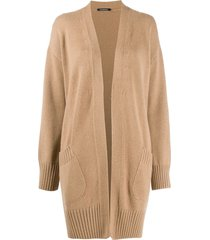 canessa sandy dropped shoulder cardigan - neutrals