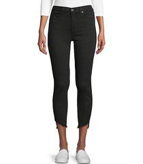 gwen frayed cuff ankle jeans