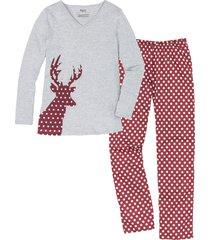 pigiama in cotone biologico (rosso) - bpc bonprix collection