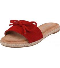 sandalia alicia rojo weide