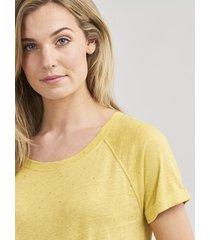 t-shirt met gouden hartjes