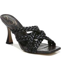 sam edelman women's majorie braided strappy dress sandals women's shoes