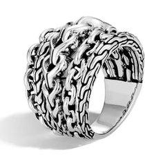 women's john hardy asli classic chain link ring