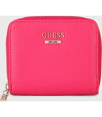 billetera fucsia guess