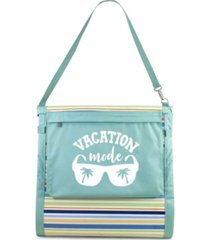 oniva vacation mode beachcomber portable beach chair tote
