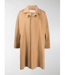 lanvin oversize coat