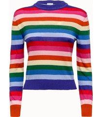 be nice maglia bali in cotone e cashmere righe multicolor