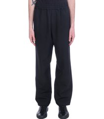 oamc chemical pants in black polyester