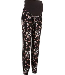 pantaloni prémaman loose fit (nero) - bpc bonprix collection