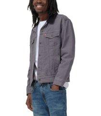 levi's men's lined trucker jacket