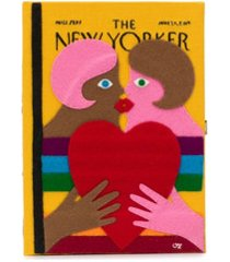 olympia le-tan the new yorker book clutch - amarelo
