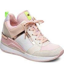 georgie trainer låga sneakers rosa michael kors shoes