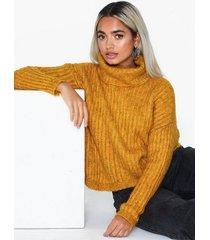 only onlchunky l/s rollneck pullover knt stickade tröjor