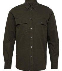 avenir shirt skjorta casual grön wood wood