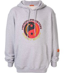 heron preston night shift hoodie - grey
