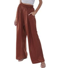 allison new york women's wide leg trousers