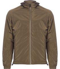 jaqueta masculina wind breaker - verde