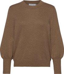 cadenceln knit pullover gebreide trui bruin lounge nine