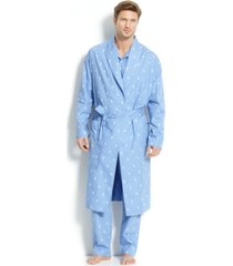 polo ralph lauren men's all over polo player robe