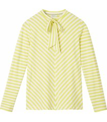 sandwich 21101632 30020 t-shirt long sleeves warm yellow