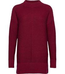 sweaters stickad tröja röd esprit casual