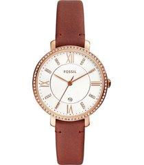 reloj fossil para mujer - jacqueline  es4413