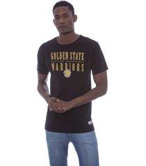 camiseta mitchell & ness defense golden state warriors preta