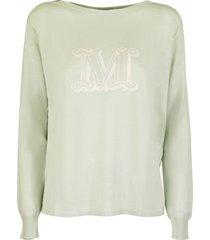 max mara salice pullover in silk and linen sweater