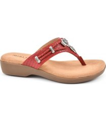 rialto bailee thong sandals women's shoes