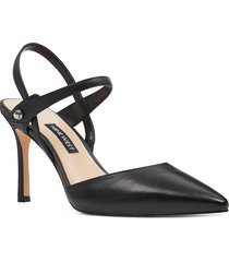 zapato cuero emme negro mujer nine west