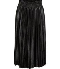 kjol vmclarin coated knee skirt