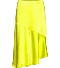 puk skirt knälång kjol gul résumé