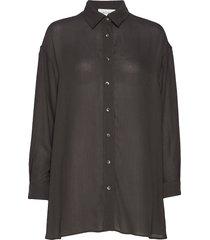 azulay långärmad skjorta svart american vintage