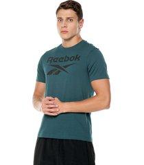camiseta verde reebok