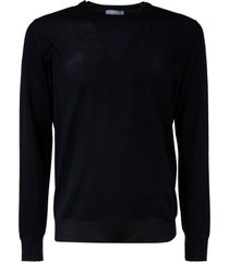 salvatore ferragamo plain ribbed sweater