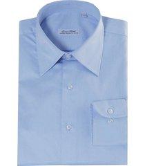 monti blauw overhemd como