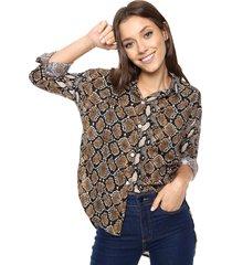 camisa animal print vespertine