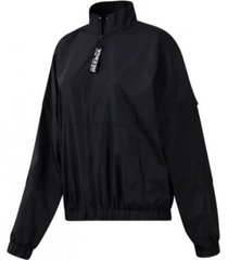 chaqueta negra reebok meet you there