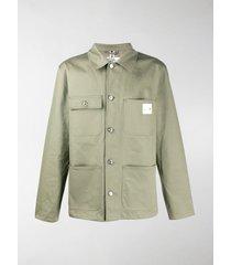 a.p.c. a.p.c x carhartt military shirt