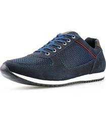 sapatênis dhl calçados casual neway florense azul