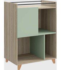 modulo cafeteira/bar aveiro/verde/verde be mobiliário