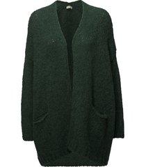 boolder stickad tröja cardigan grön american vintage
