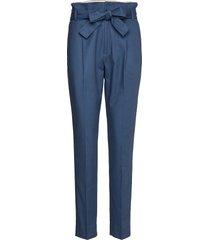 trousers pantalon met rechte pijpen blauw noa noa