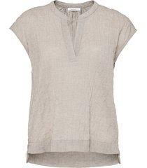 opus blouse met korte mouwen felbe