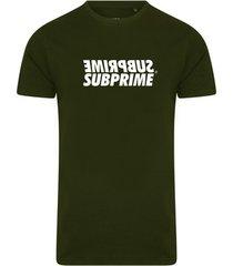 t-shirt korte mouw subprime shirt mirror army