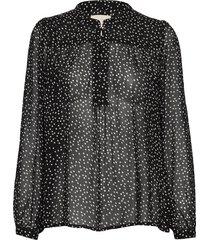 aberte bl blouse lange mouwen zwart part two