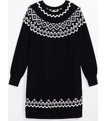loft maternity fair isle sweater dress