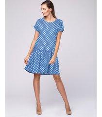 sukienka w grochy polka dots