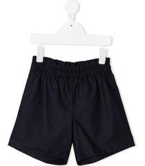bonpoint elasticated casual shorts - blue