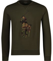 ralph lauren sweater olijfgroen